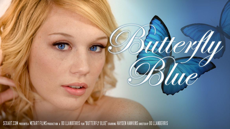 farfalla blu (Hayden Hawkens) - SexArt