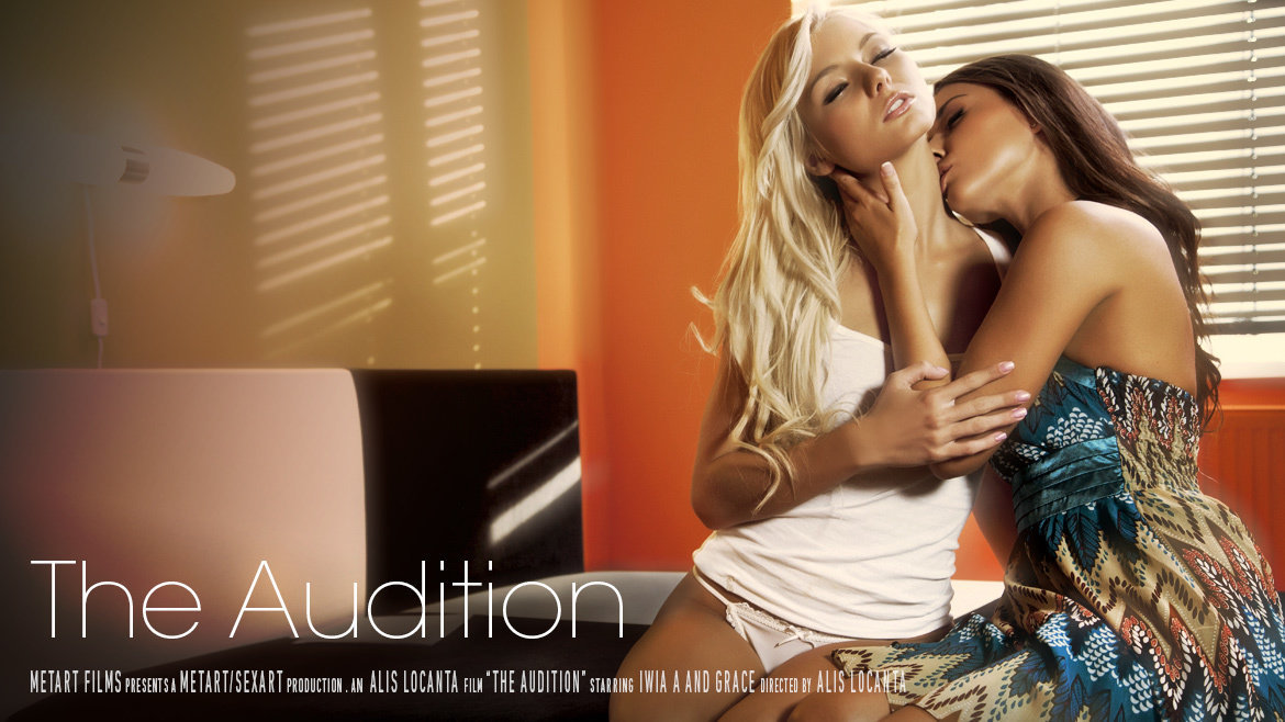 The Audition (Grace C, Iwia A) - SexArt